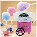 Easy to Clean and Use Cotton Candy Floss Maker, Fashion Mini Cotton Candy Machine JK-1801 Cotton Candy Maker for Birthdays and Parties