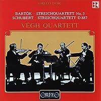 弦楽四重奏曲集 /Bartok Schubert: Vegh Quartett