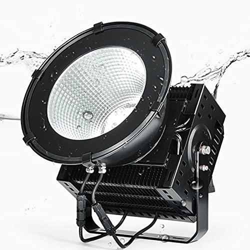 HAI Foco Led Exterior Ip65 Impermeable, Floodlight Led Foco 300w 500w 800w 6000k, Luz De Trabajo Led Leche De Araña para El Estadio Factory Wharf(Size:500W)