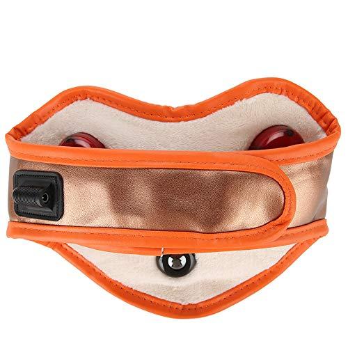Cojín térmico masajeador cervical Shiatsu eléctrico con compresa infrarroja y masaje magnético,...