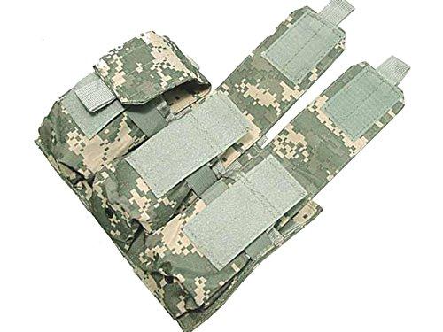 Táctico Triple 600d, con bolsillo para cargador) para AEG Molle caza airsoft...