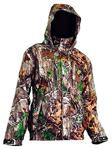 ScentBlocker Outfitter Hunting Jacket, Medium, Real Tree Xtra