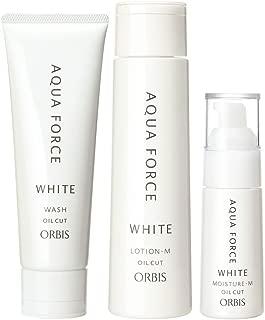オルビス(ORBIS) アクアフォースホワイトシリーズ 3ステップセット (M しっとりタイプ) ◎美白・透明感ケア◎ 医薬部外品