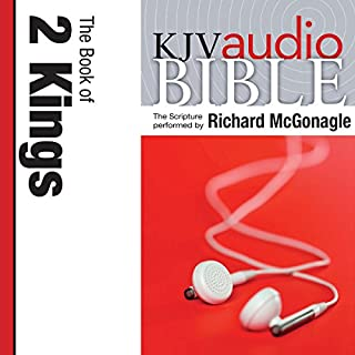 Pure Voice Audio Bible - King James Version, KJV: (11) 2 Kings audiobook cover art