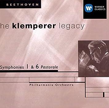 The Klemperer Legacy: Beethoven Symphonies Nos. 1 & 6