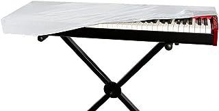 OnStage 61-Key Keyboard Dust Cover, White (KDA7061W)