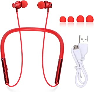 $24 » Bluetooth Headphone, Magnetic Wireless Neckband Sports Earphone CSR Stereo Deep Bass Earbuds Headphones