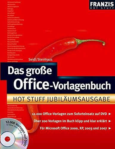 Das große Office-Vorlagen Buch [import allemand]