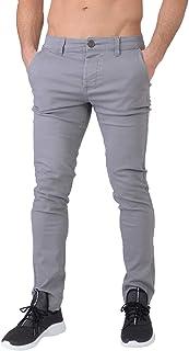 Crosshatch Men's Kractus Tan Chino Trousers