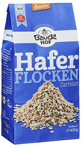 Bauckhof Bio Bauck Demeter Haferflocken Zartblatt (6 x 425 gr)