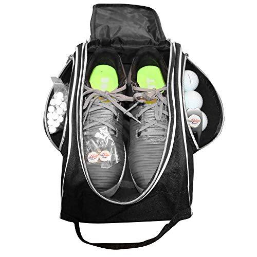 Sandbagger Golf Shoes Bag Vented Pockets Includes Tees - Ball Marker - Divot Repair Tool