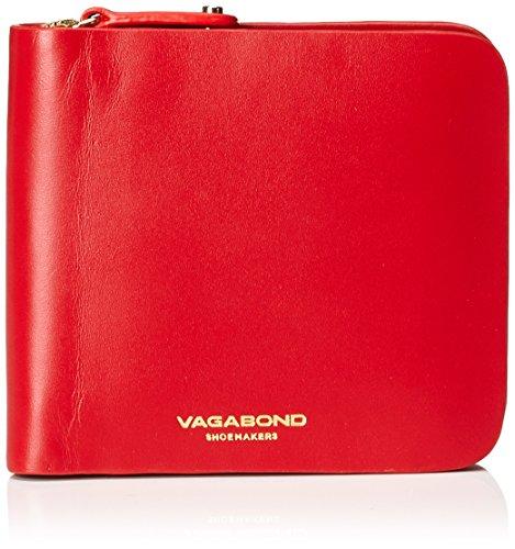Vagabond Damen Palermo Geldbörse, Rot (Red), 2x11x10.5 cm