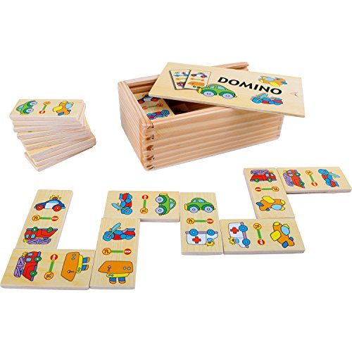 Legler small Foot Domino Fahrzeuge, ab 3 Jahre, 4221