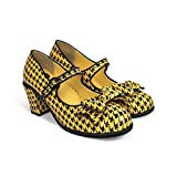Hot Chocolate Design Chocolaticas Zapatos de tacón Medio para Mujer Mary Jane, Color, Talla 42 EU