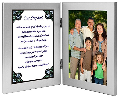 Stepdad Touching Poem Gift From Stepchildren for His Birthday or Father's...