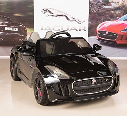 BIG TOYS DIRECT Jaguar F-TYPE 12V Kids Ride On Battery Powered Wheels Car with...