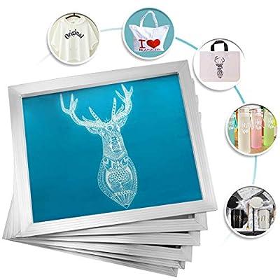 VEVOR Silk Screen Frame Aluminum Silk Screen Frame with White Mesh
