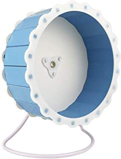 Petzilla Quiet Hamster Exercise Wheel Silent Spinner, Sunflower Design