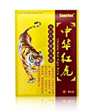 Sumifun Back Pain Patches, 64 Pcs of Herbal Patches for Bone Pain Relief, Hot Patch Tiger Chinese for Relieving Muscle & Joint Soreness, for Parents, Worker (8)