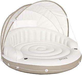 Intex 58292EU - Isla hinchable Canopy crema 199 x 150 cm