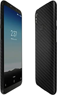 Skinomi BLU Vivo Go Screen Protector + Black Carbon Fiber Full Body, Skinomi TechSkin Carbon Fiber Film for BLU Vivo Go wi...
