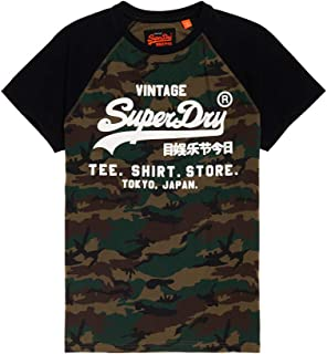 Men's Shirt Shop Short-Sleeve Camo Raglan T-Shirt