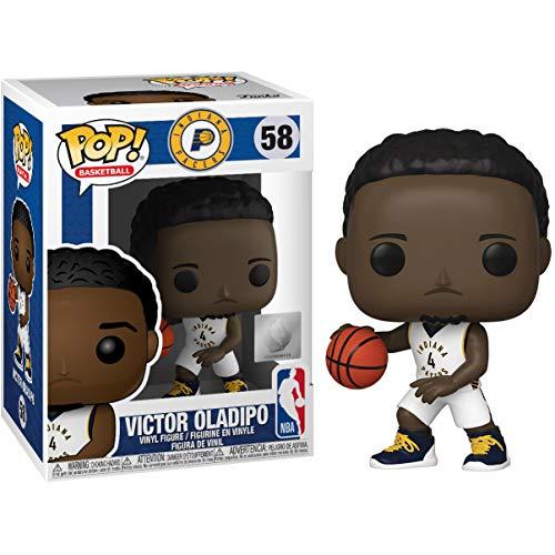 Funko Victor Oladipo [Pacers]: Pop! Figura de Vinilo de Baloncesto y 1 Paquete de Protector gráfico Compatible (058 - 44275 - B)