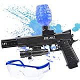 Nazano Ball Blaster Toys 1911 for Gel Blaster Gun— Shoots Eco-Friendly Water Beads with Electric for Fun and Outdoor Activities-Fighting Shooting Team Game for Boys and Girls Ages 12+ (Black)