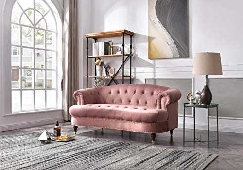 Glory Furniture Beverly Love Seats, Pink