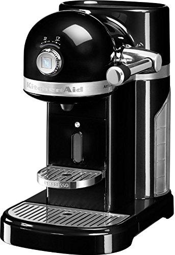 KitchenAid Artisan Nespresso Libera installazione Semi-automatica Macchina per espresso 1.4L Nero