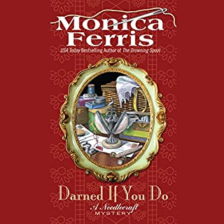 Darned if You Do audiobook cover art