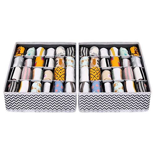 Joyoldelf - Caja de almacenamiento plegable para cajones - 2
