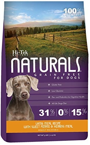 Hi-Tek Naturals Grain Free Lamb Meal and Sweet Potato Formula Dry Dog Food