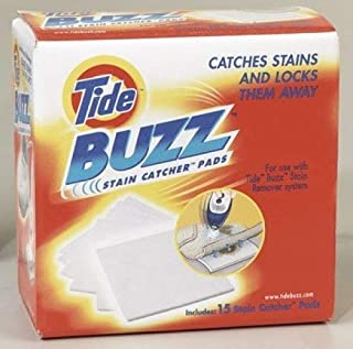 (3 Pack) Tide Buzz Stain Catcher Pads, 15 count each - Total of 45 Pads