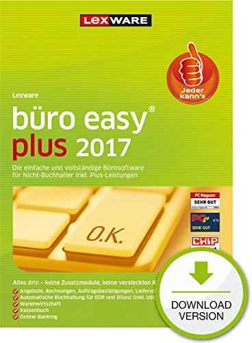 Lexware büro easy plus 2017 - Plus [PC Download]