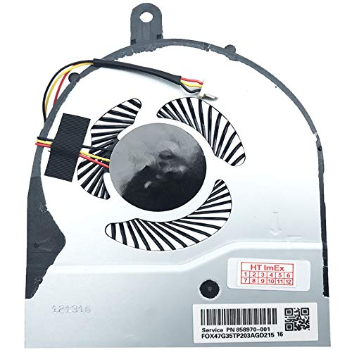 Price comparison product image Fan Cooler Compatible with Dell Inspiron 5458,  5458,  5459,  5551,  5558,  Dell P / N: 02FW2C