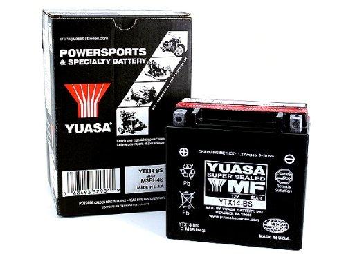 Batterie Yuasa YTX 14-BS wartungsfrei(AGM)