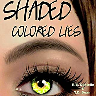 Shaded: Colored Lies audiobook cover art