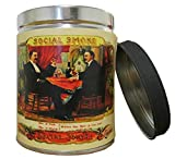 Our Own Candle Company Smoke Eliminator Scented Candle in 13 Ounce Tin with a Vintage Social Smoke Label