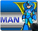 Customized Rectangle video games mega man anime cartoons blue armor image For Large Mousepad Gaming Mouse Pad (20mm24mm)(89 inch) GGH8105815