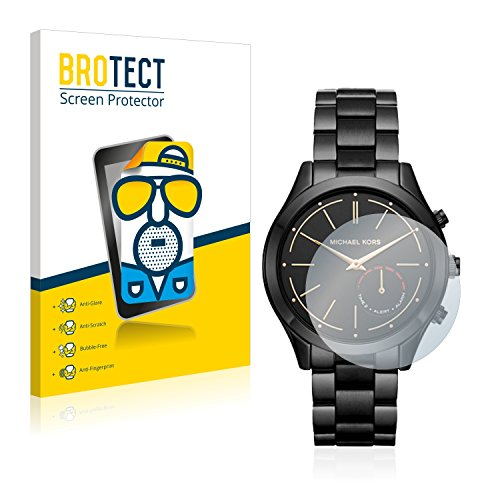 BROTECT 2X Entspiegelungs-Schutzfolie kompatibel mit Michael Kors Access Slim Runway (42 mm) Bildschirmschutz-Folie Matt, Anti-Reflex, Anti-Fingerprint