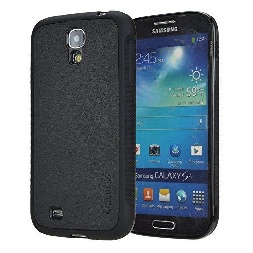 Mulbess Slim Funda para Samsung Galaxy S4, Carcasa Ligera Silicona Suave TPU Gel Case Cover de Protección Antideslizante [Anti-Rasguño] [Anti-Golpes] Caso para Samsung Galaxy S4, Negro