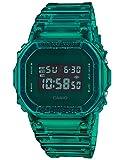 Men's Casio G-Shock Digital Color Skeleton Series Green Resin Watch DW5600SB-3