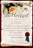 Riesen-Hochzeit Urkunde Grußkarte Zur Hochzeit A4