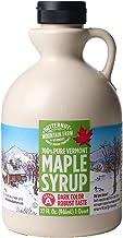 Butternut Mountain Farm Pure Vermont Maple Syrup, Grade A (Prev. Grade B), Dark Color, Robust Taste, All Natural, Easy Pou...