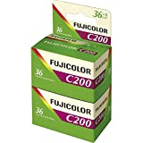 Fujifilm - C200 - Pellicule Photo Argentique Couleur - Film 24x36 - 200 ISO - 36 Poses (Bipack)