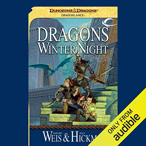 Couverture de Dragons of Winter Night