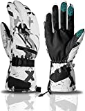 Ski Gloves, YCbingo Winter Waterproof ski Snowboard Gloves Warm Touchscreen Cold Weather Snow