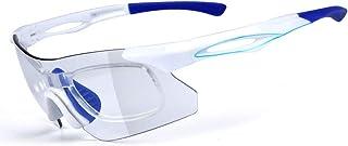 Lindhb Gafas de Sol Deportivas Antivaho Antireflejo Ciclismo Gafas para Correr Especialista en Gafas de Sol Deportivas Diseño Superlight Frame para Hombre y Mujer 7 Colorse para Hombre y Mujer