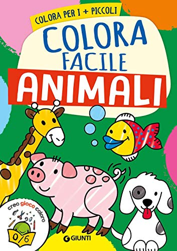 Animali. Colora facile